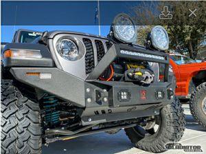 Jeep gladiator steel winch bumper for Sale in Miami, FL