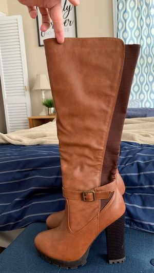 Women's size 10 leather boots for Sale in Dedham, MA