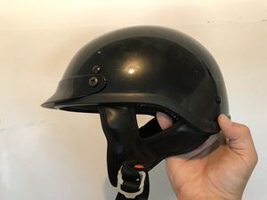 DOT large half helmet for Sale in Bunker Hill, WV
