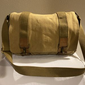 Vintage Heavy Duty Canvas Messenger Bag for Sale in Erie, CO