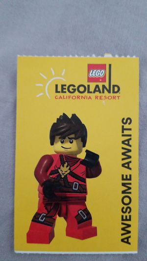 Legoland 1 day Hopper tickets (only one) for Sale in Victorville, CA