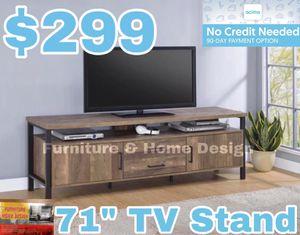 "71"" TV Stand for Sale in Visalia, CA"