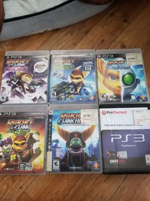 Ratchet and Clank collection ps3 for Sale in San Francisco, CA