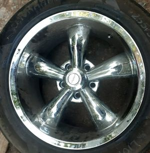 Chevy chrome wheels 18 inch for Sale in Nathalie, VA