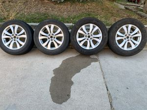 """18"""" rims and tires for Sale in Golden, CO"""