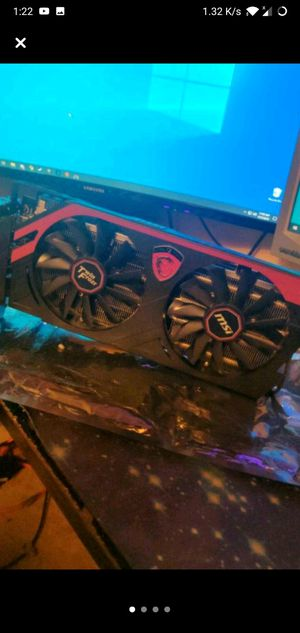 MSI R9 290x Gaming 4GB for Sale in Little Falls, NY