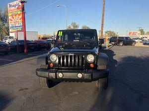 2011 JEEP WRANGLER UNLIMITED 4X4 for Sale in Phoenix, AZ