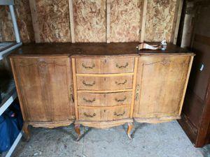 Antique cabinet for Sale in Creedmoor, TX