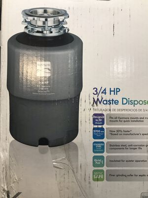 Garbage disposal never open for Sale in Houston, TX