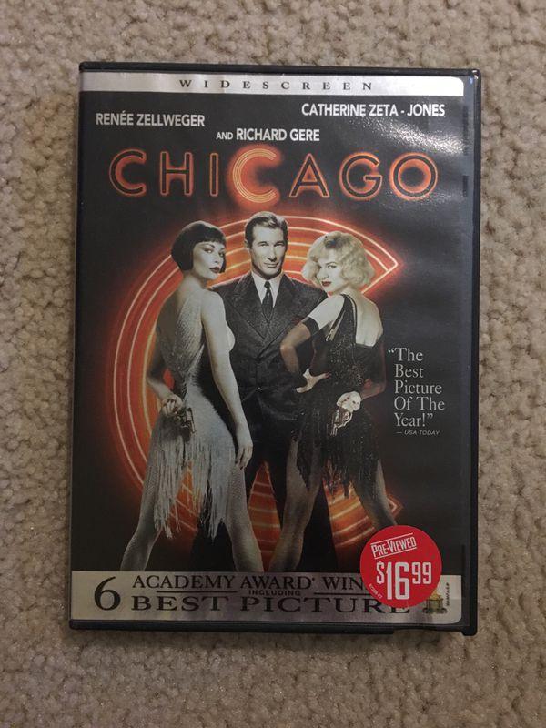 """Chicago """"Best Picture"""" winner DVD"""