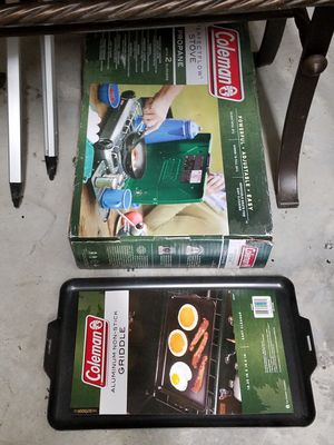New camping stove and skillet for Sale in Pretty Prairie, KS