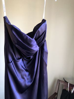 Royal purple evening gown for Sale in Lancaster, CA