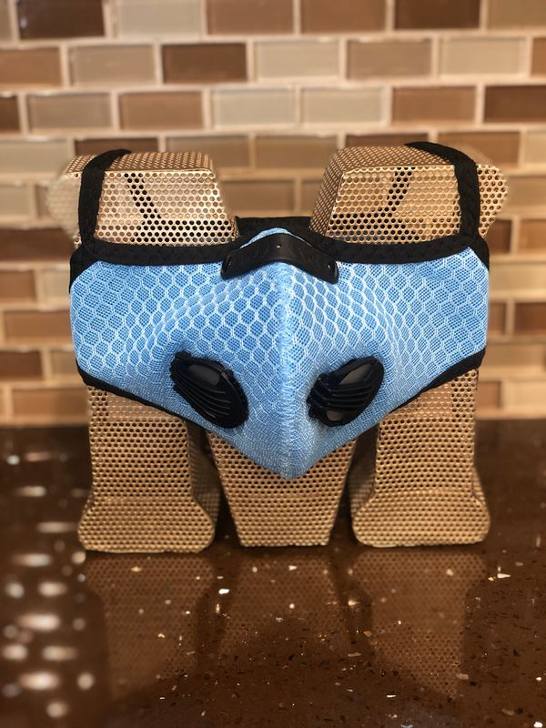 Air Filter Face Mask Cover with Vents