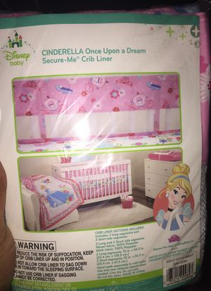 Crib mattress sheet and liner Cinderella (Girl) for Sale in Cleveland, OH