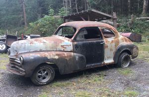 1947 Chevrolet Coupe Rat for Sale in Freeland, WA