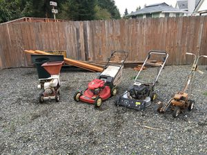 Trade for Self propel or riding lawn Mower for Sale in Graham, WA