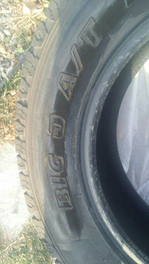 235/65 R17 $75 for all 3 tires for Sale in Mount Pleasant, UT