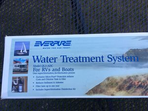 GREAT DEAL on a EVERPURE Water Treatment System for Boats and RV's! for Sale in Everett, WA