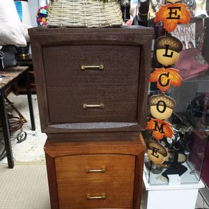 Same 2 End Dressers Just Different Colors for Sale in Albuquerque, NM