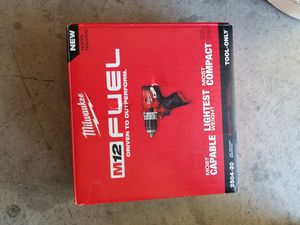 Milwaukee FUEL m12 hammer drill for Sale in North Las Vegas, NV