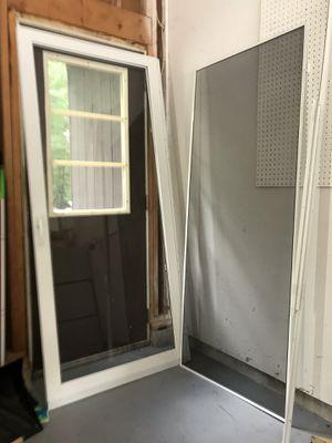 Full glass storm door for Sale in Cumberland, IN