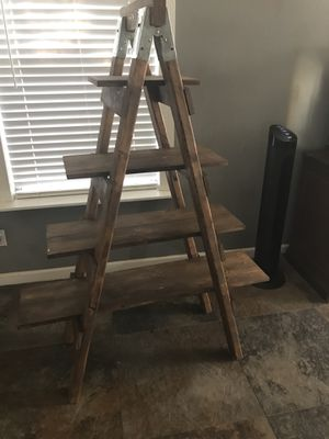 Farmhouse ladder shelf for Sale in Mesa, AZ
