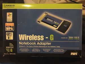 Linksys Wireless-G Notebook Adapter for Sale in Portland, OR
