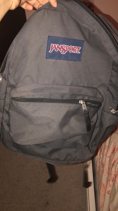 Jansport Grey Backpack