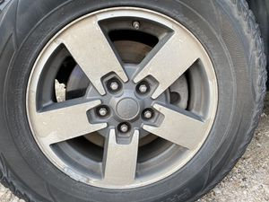 """Jeep 17"""" set of wheels for Sale in Houston, TX"""