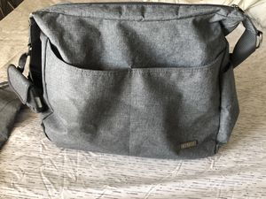 Grey Diaper Bag in great condition for Sale in San Diego, CA