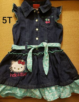 5T HELLO KITTY denim dress $4 for Sale in Santa Ana, CA