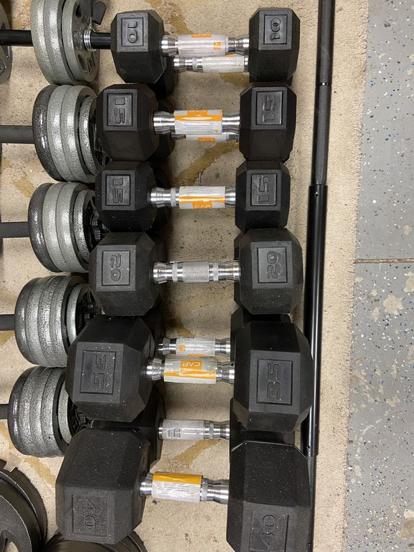 New - Barbells, Dumbbells, Weight Lifting Weights and Bars