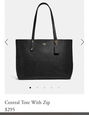 Coach Tote Purse for Sale in Wesley Chapel, FL
