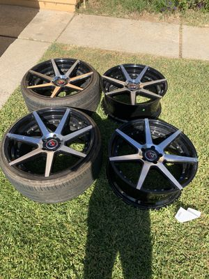 CURVA® - C47 Black with Machined rims for sale for Sale in Norco, CA