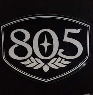 Large 805 Beer Sticker Firestone Walker Decal for Sale in Pismo Beach, CA