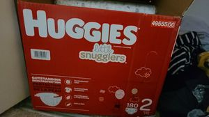 huggies snugglers size2 for Sale in MONTGOMRY VLG, MD