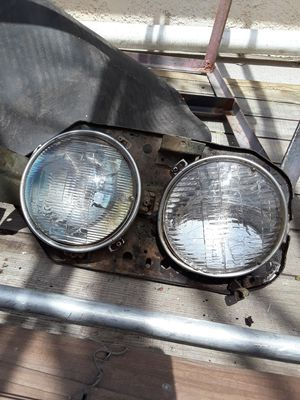 50s-60s ford truck headlights and mounts for Sale in Tucson, AZ