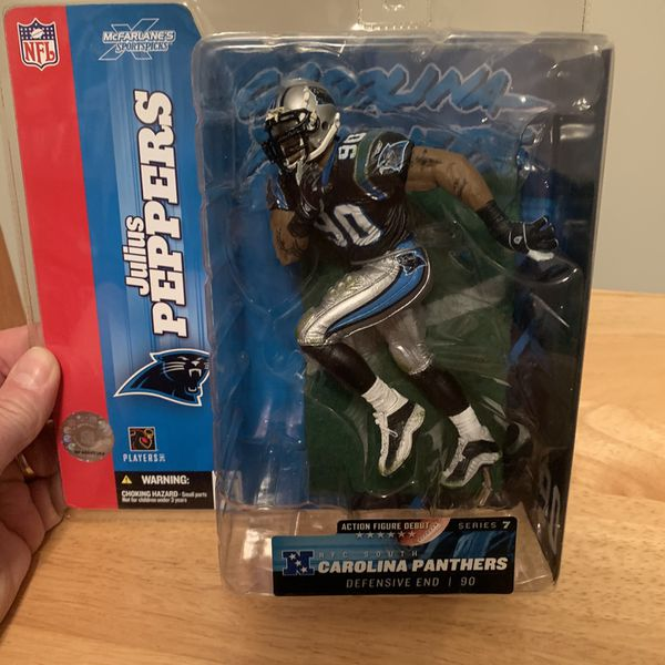 McFarlane Julius Peppers Carolina Panthers 7inch Figure