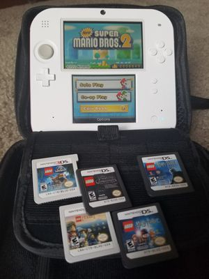 Nintendo 2ds, 6 games, carrying case for Sale in Orlando, FL