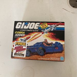 1988 GiJoe Cobra Adder Toy for Sale in Marietta, GA