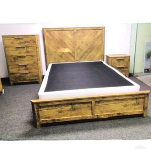 New!! 3Pc Bed Set, Furniture, Queen Bed,Bedroom,2 Drawer Nightstand,Bed,Tall Chest-QUEEN SIZE for Sale in Phoenix, AZ