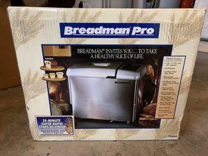 Breadman Pro bread maker for Sale in Lake Forest, CA