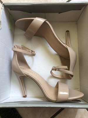 Nude strap heels! SIZE 7.5 for Sale in Anaheim, CA