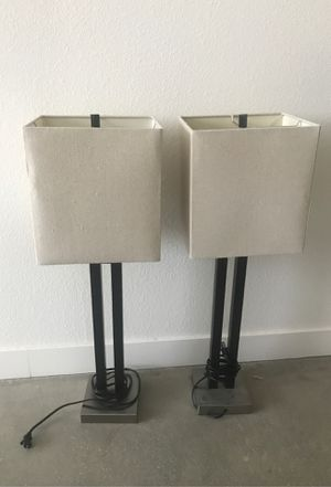 Modern Table Lamps (set of 2) for Sale in Los Angeles, CA
