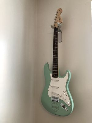 Squier Special Edition Bullet Stratocaster SSS Electric Guitar with Tremolo Sea Foam Green for Sale in New York, NY