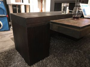 Slate and wood coffee table for Sale in Arlington, VA