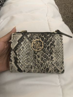 GUESS snake print wallet for Sale in Fullerton, CA