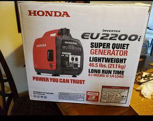 Honda generator eu2200 brand new for Sale in Phoenix, AZ