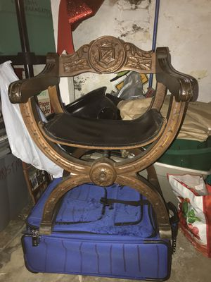 1920s Gothic Revival Antique Chair for Sale in Philadelphia, PA