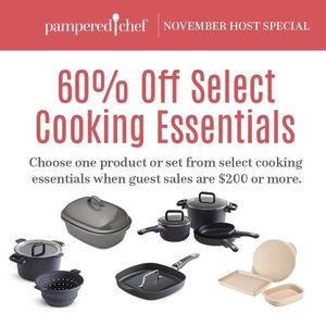 Pampered Chef cooking show for Sale in Hamlin, NY
